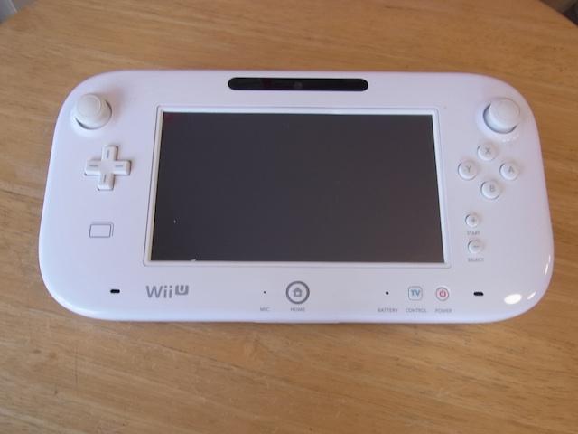 Wii Uのgamepad/任天堂3DS/ipod classic修理 川口のお客様