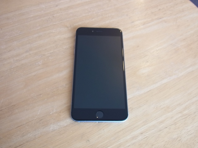 iphone6s/Wii Uのgamepad/任天堂3DS修理 岡山市のお客様