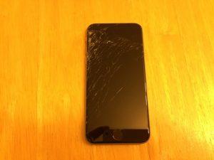 iphone6画面割れ修理 泉中央のお客様