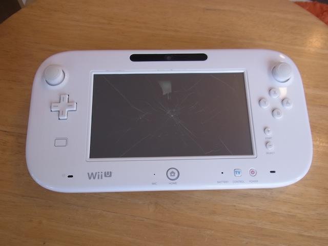Wii Uのgamepad/PSVITA/任天堂3DS修理 仙台のお客様