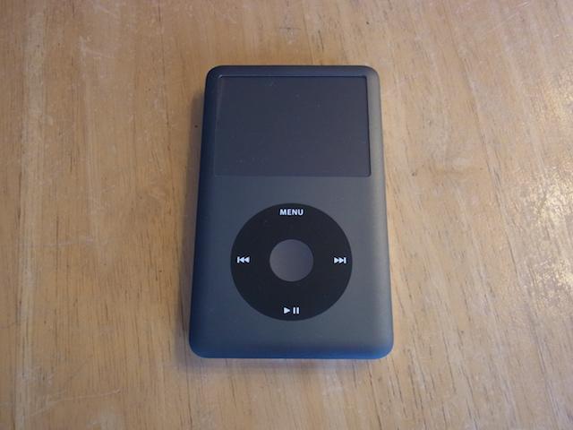 仙台のお客様 iPod classicリンゴマーク 修理予約