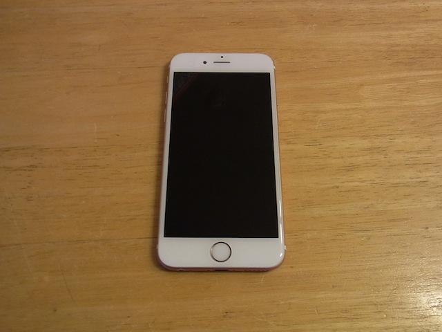 iphone6s/ipod classic/ipad mini修理 新所沢のお客様