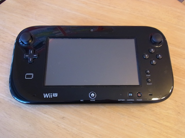 Wii Uのgamepad/PSVITA/iphone6s修理 新所沢のお客様