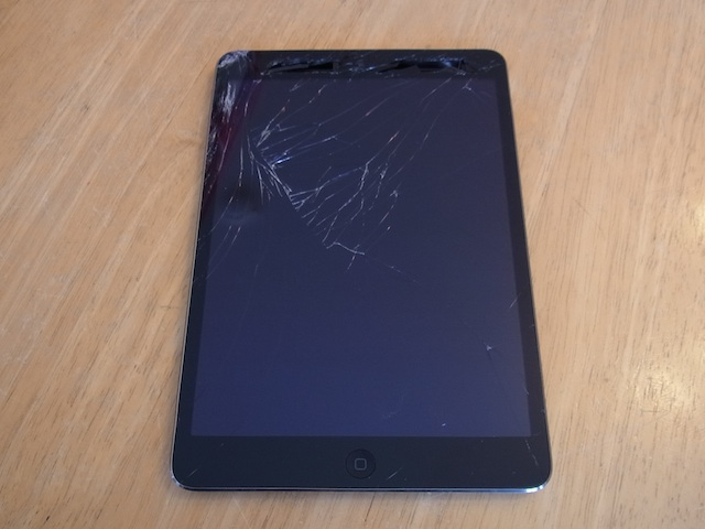 ipad mini/ipod touch5/iphone修理 新所沢のお客様