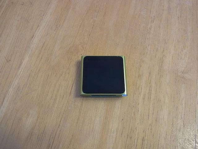 ipod nano6/ipod classic/iphone6s修理 新所沢のお客様