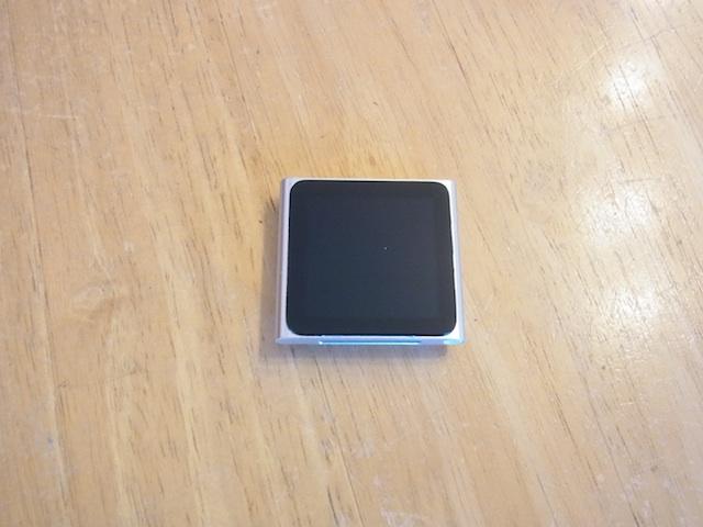 ipod nano6修理受け付け 新所沢のお客様