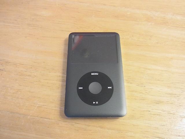 航空公園のお客様 iPod classicバッテリー交換 預かり修理