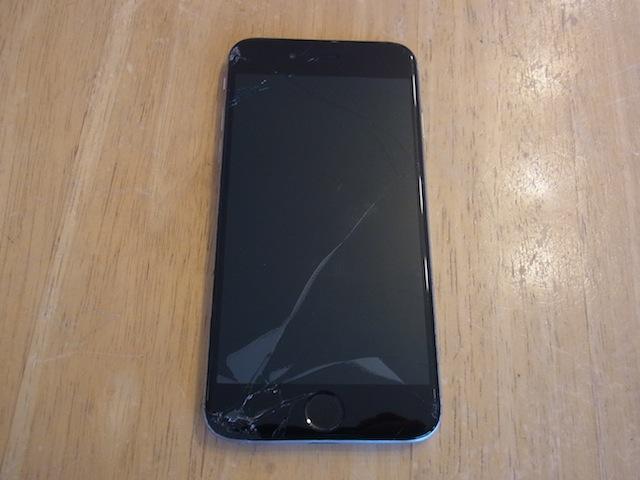航空公園からご来店 iPhone画面交換 持ち込み修理