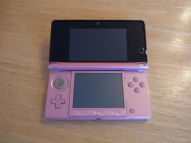 任天堂3DS/PSVITA/ipod classic修理 横浜のお客様