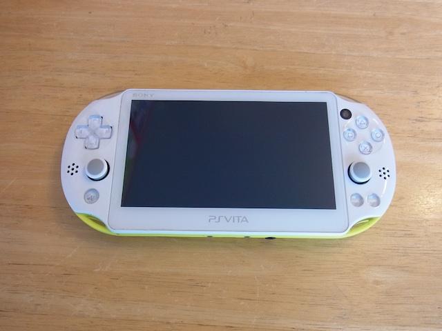 PSVITA2000/任天堂3DS/ipod classic修理 川崎のお客様
