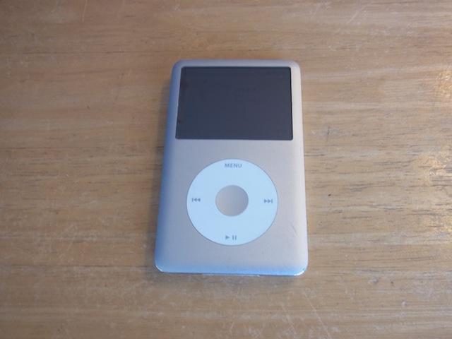 保土ヶ谷のお客様 iPod classic持ち込み修理のご案内