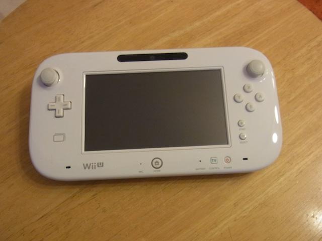 川崎からご来店 WiiUゲームパッド/任天堂3DS持ち込み修理