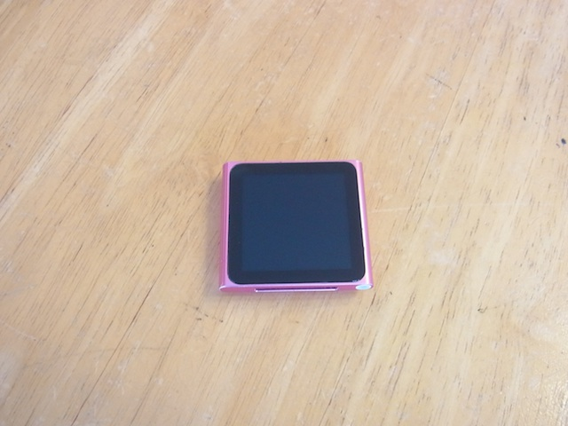 鶴見のお客様 iPod nano6/iphone修理予約