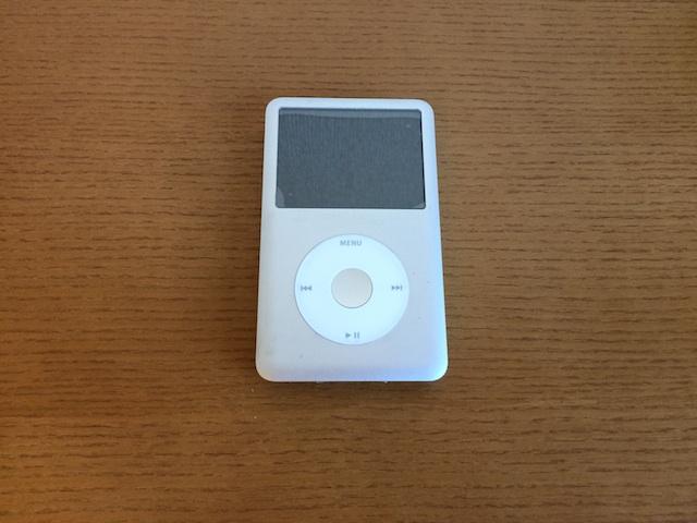 ipod classic・ipod touch5修理 仙台のお客様