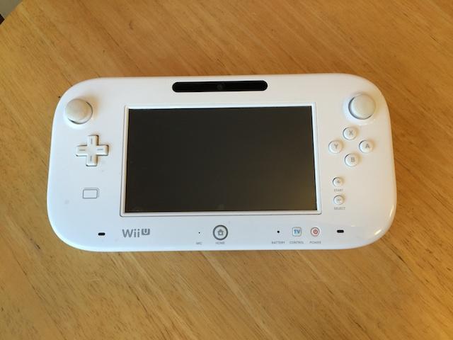 WiiU ゲームパッド液晶修理 仙台