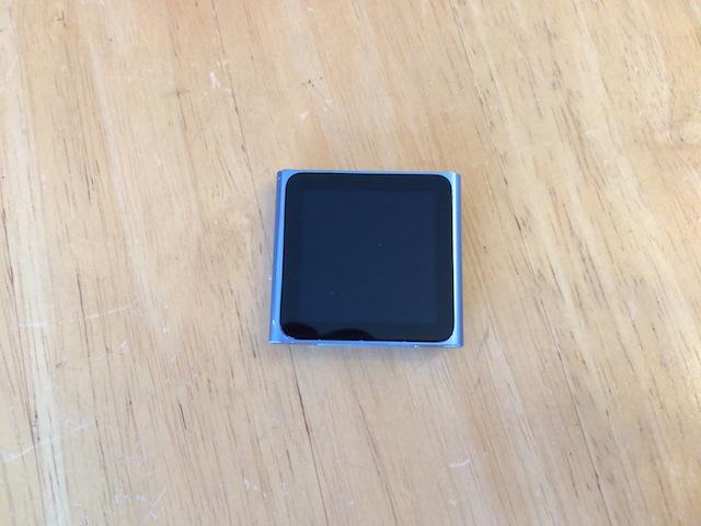 ipod nano6/iphone6修理 仙台のお客様
