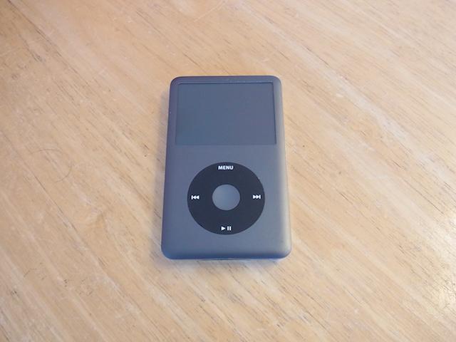 多賀城市のお客様 iPod classicバッテリー交換のご案内