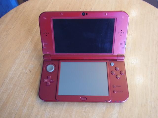 多賀城市のお客様 任天堂3DS下液晶故障修理