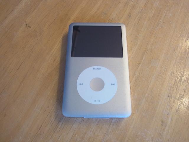 仙台のお客様 iPod classic同期しない/大容量化