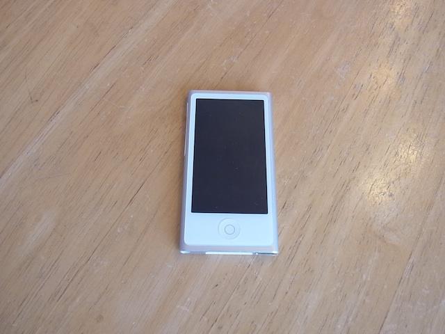iPod nano7バッテリー交換預かり修理 仙台の修理店