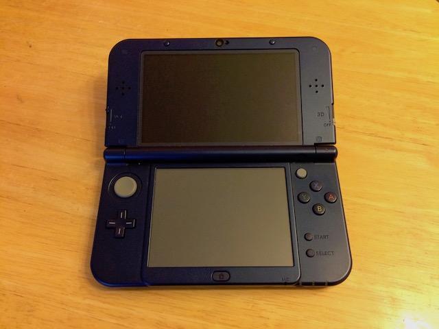 西東京市のお客様 任天堂3DS下液晶修理のご案内