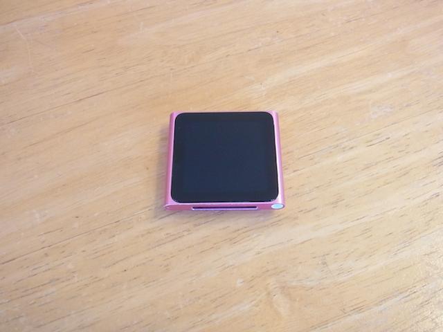 新所沢のお客様 iPod nano6バッテリー交換 預かり修理