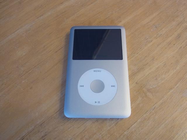 所沢のお客様 iPod classic大容量化カスタム受付
