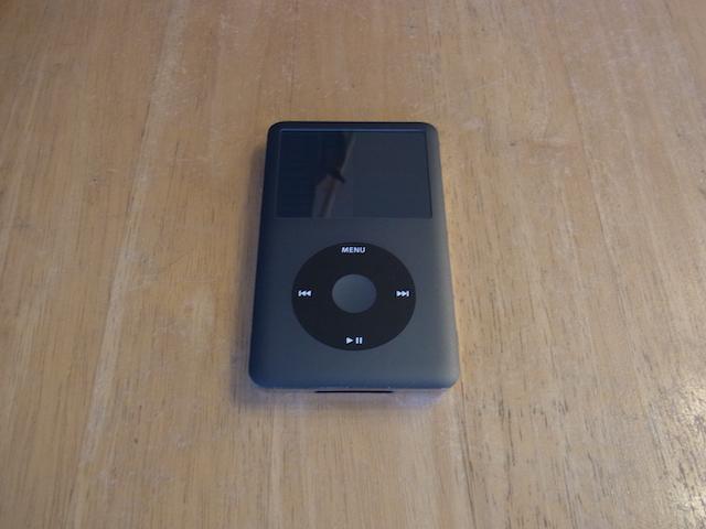 拝島のお客様 iPod classic大容量化受け付け