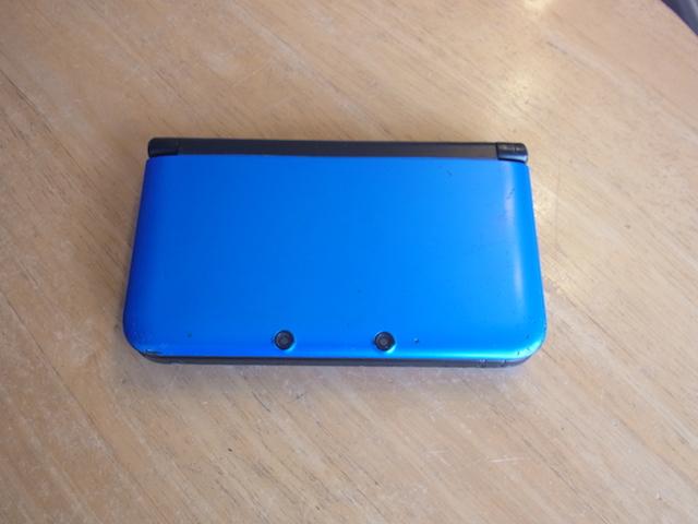蒲田のお客様 任天堂3DS電源が落ちる 修理のご案内