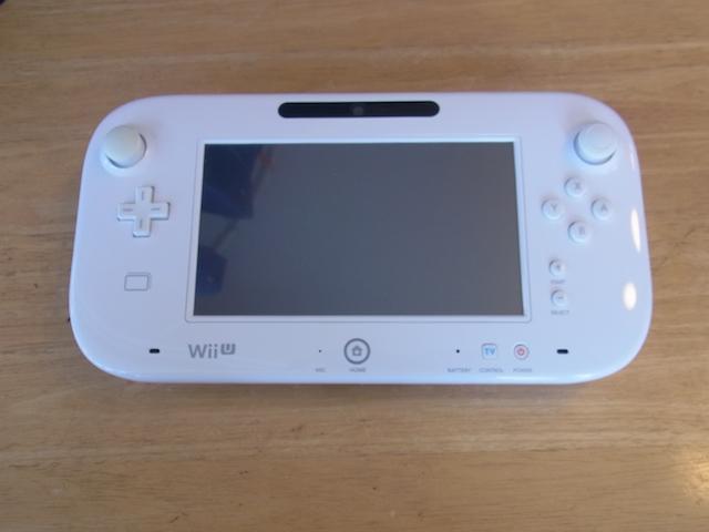蒲田からご来店 Wii U GamePad持ち込み修理予約